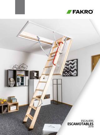 Fakro Timber Attic Ladders 2.3-3.05m